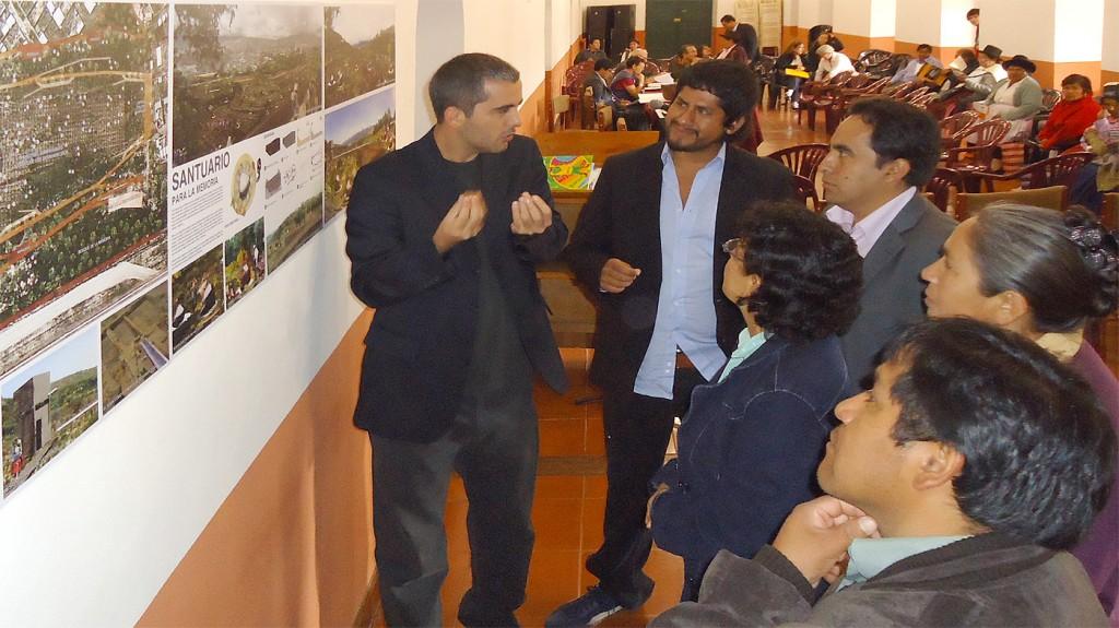 Presentación de la propuesta en el Centro Cultural San Cristóbal